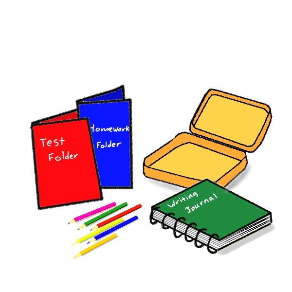 clipart school supplies - photo #31